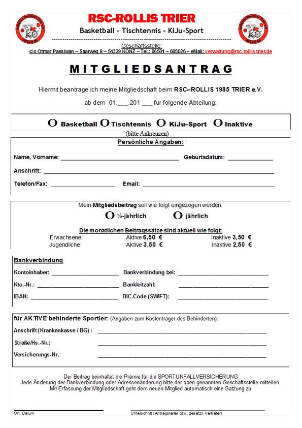 Mitgliedsantrag-Einzelperson