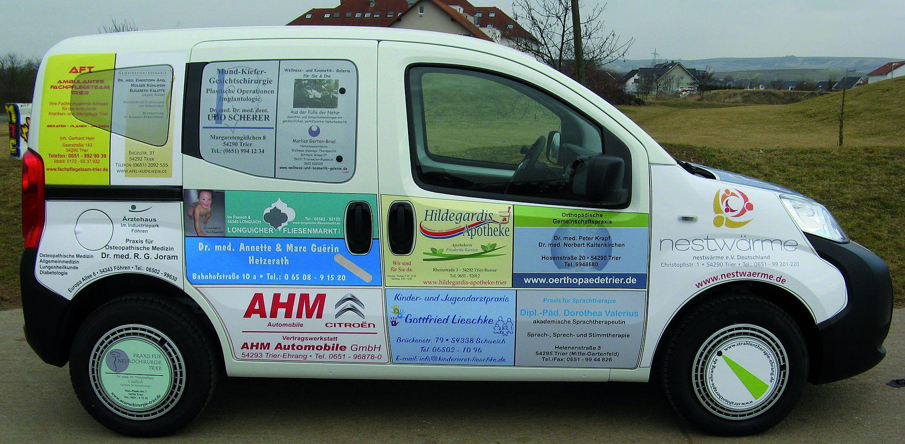 Sponsoring PKW Verein